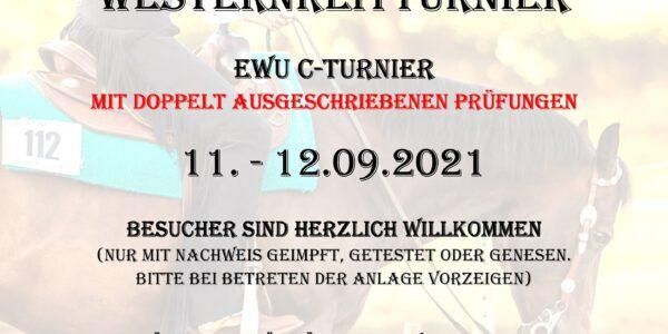 Ausschreibung Ostfriesland goes Western die XIV.  EWU C–Turnier ist online!